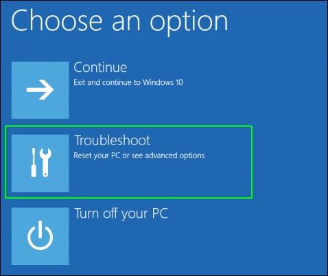 fix windows 10 startup problem