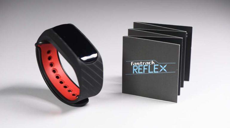 Fastrack reflex WAV smart band first impression