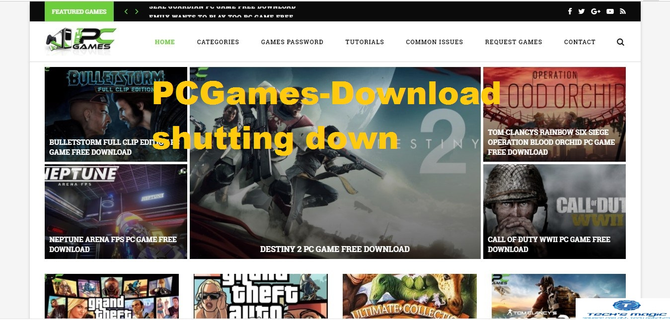 PCGames-Download shutting down: Everything comes to end