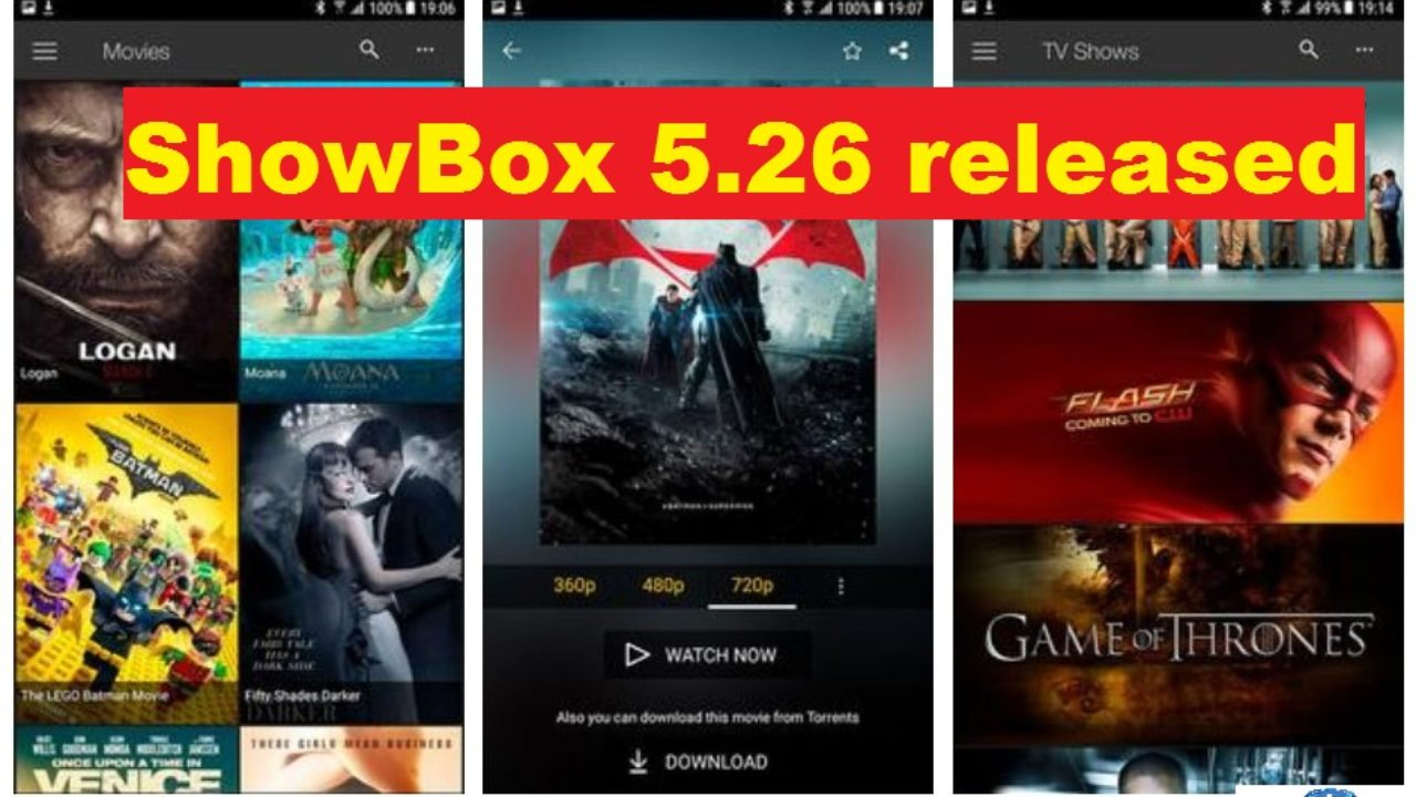 ShowBox 5 26 released with 100 new movies & TV shows: But
