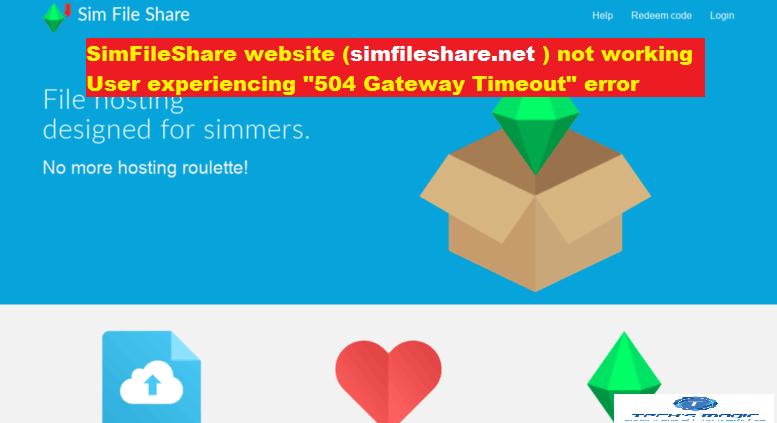 Is simfileshare net website crash?: User experiencing