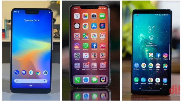 iPhone XS Max Vs Pixel 3XL Vs Galaxy S10 Plus