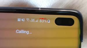 Galaxy S10 blinking white pixel