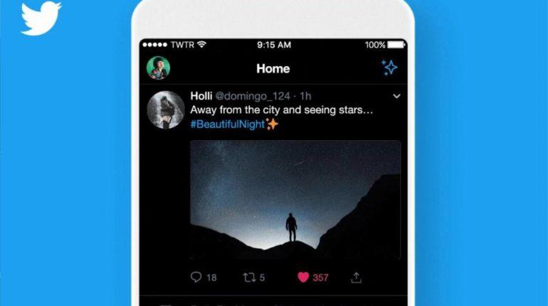 twitter true dark mode iOS