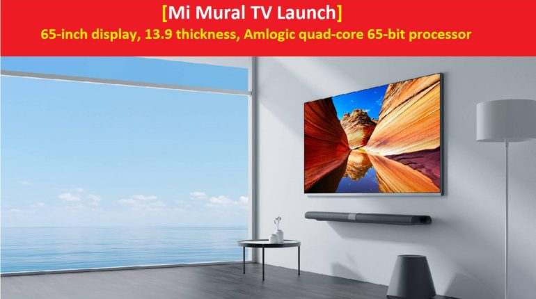 Mi Mural TV Specification