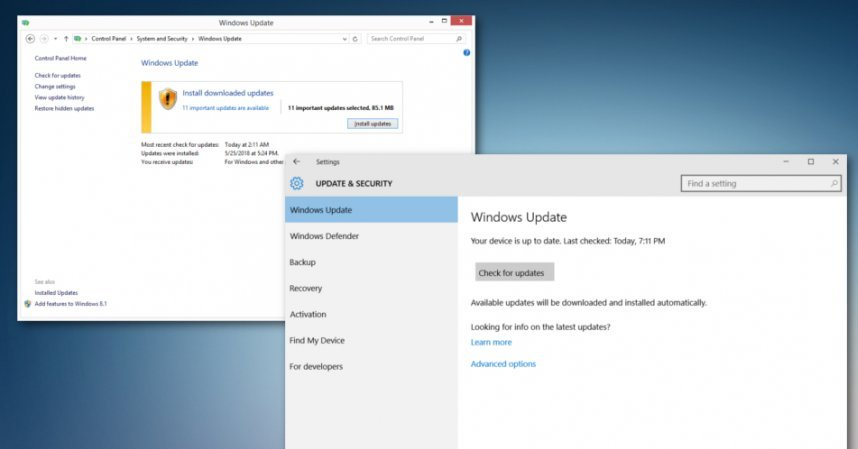 windows 10 upgrade failed 0xc1900101-0x4000d
