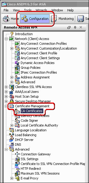 Cisco AnyConnect Certificate Validation Failure