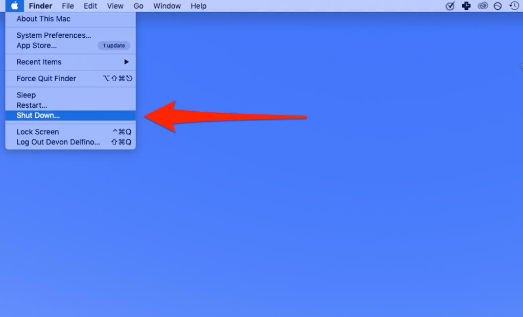 Macbook Pro safe mode